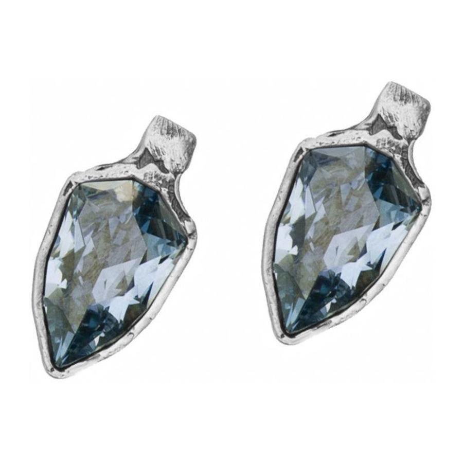"""Oorbellen  """"monarchy"""" MS4535 Crystal Blue Shade-1"""