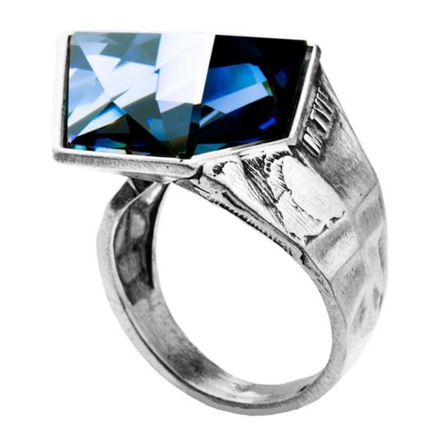"Ring  ""aurora"" MS5524 Crystal Sahara-1"