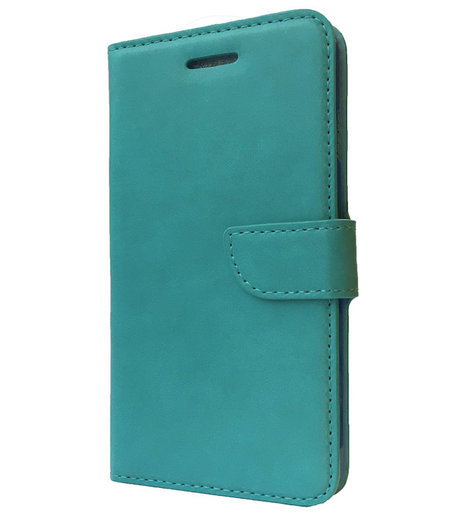 HEM Blauw Boekhoesje Samsung S4 mini i9190 skye leer