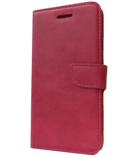 HEM Roze boekje voor Huawei Y5 met vakje voor pasjes, geld en fotovakje