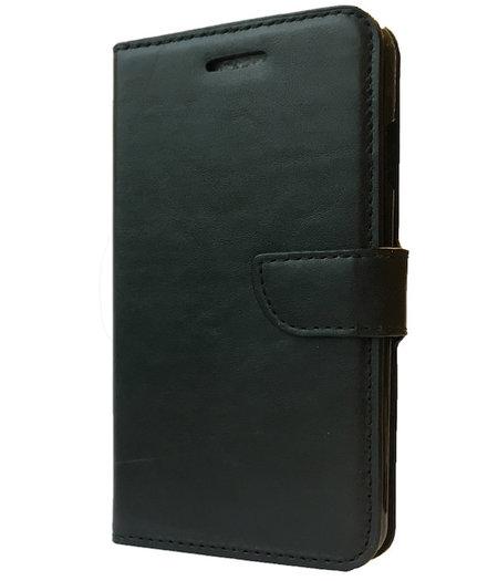 HEM Zwart boekje voor de Samsung Galaxy S5 mini met vakje voor pasjes, geld en fotovakje