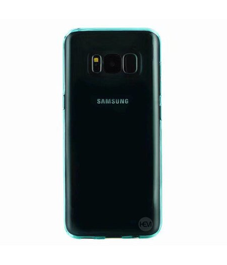 HEM Turquoise Siliconen Gel TPU Cover / hoesje Samsung S8 SM-G950