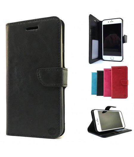 HEM Zwarte Wallet / Book Case / Boekhoesje/ Telefoonhoesje / Hoesje Samsung Galaxy J5 SM-J500FN met vakje voor pasjes, geld en fotovakje