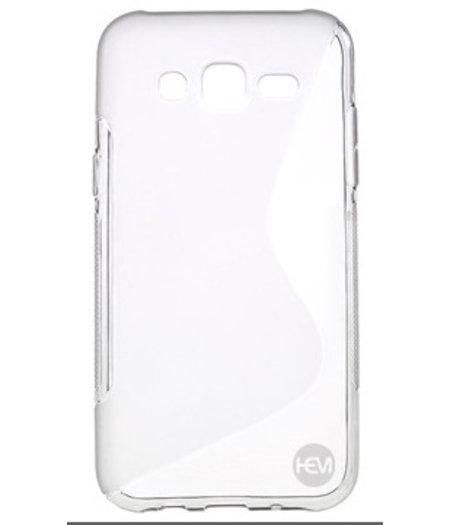 HEM Transparante Siliconen Gel TPU / Back Cover / hoesje Samsung Galaxy J5 (2016)