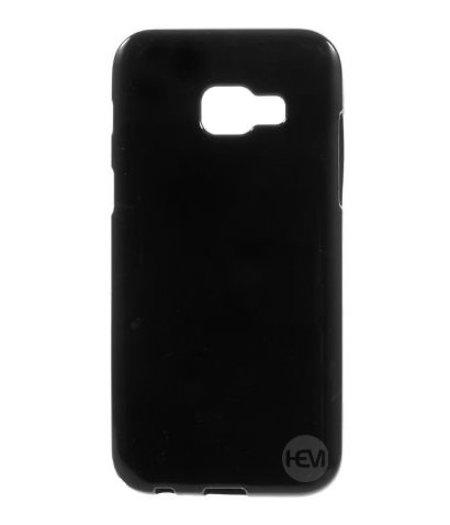 HEM Zwarte Siliconen Gel TPU / Back Cover / hoesje Samsung Galaxy A5 (2017)