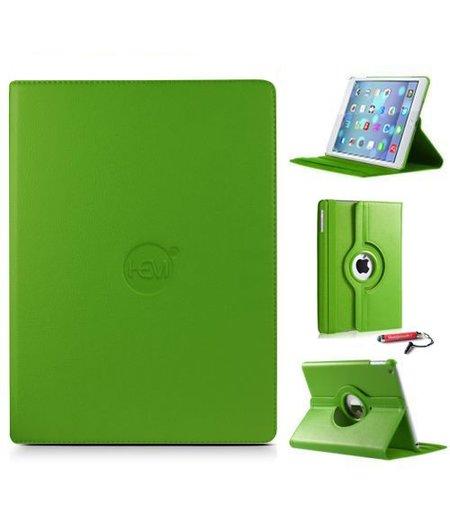 HEM iPad Air 2 hoes HEM groen hoesjes Apple iPad Air 2 groen  / hoesje iPad Air 2 uitschuifbare hoesjesweb touchscreenpen