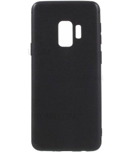 HEM Zwarte Siliconen Gel TPU / Back Cover / hoesje Samsung S9 G960