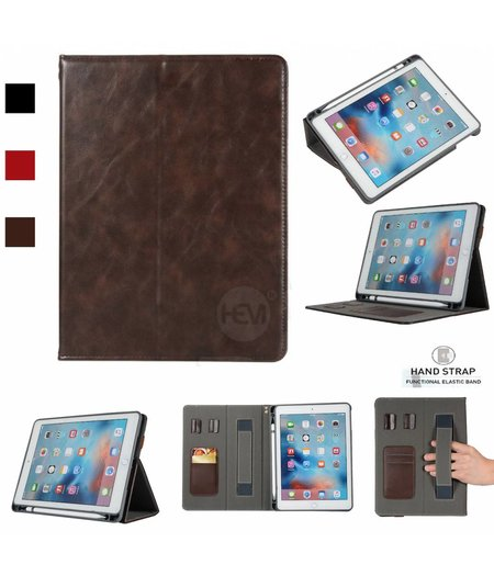 HEM Apple iPad 9.7 2017 Business Organizer Bruin smartcover met handvat