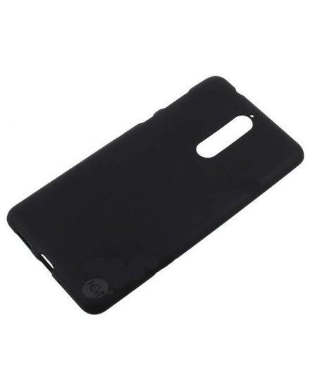 HEM Nokia 8 Zwart Siliconen Gel TPU / Back Cover / Hoesje