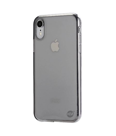 HEM iPhone XR siliconenhoesje zwart transparant / Siliconen Gel TPU / Back Cover / Hoesje iPhone XR  zwart doorzichtig