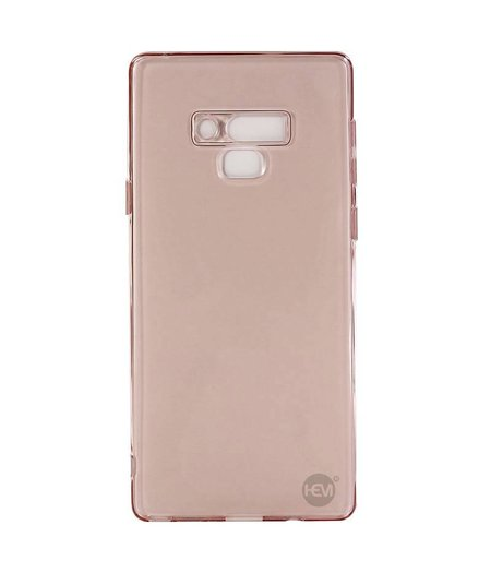HEM Samsung Note 9 roze transparant siliconenhoesje /  Siliconen Gel TPU / Back Cover / Hoesje Note 9