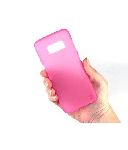 HEM Samsung S8 Plus SM-G955 Mat Roze Siliconen Gel TPU Cover / hoesje