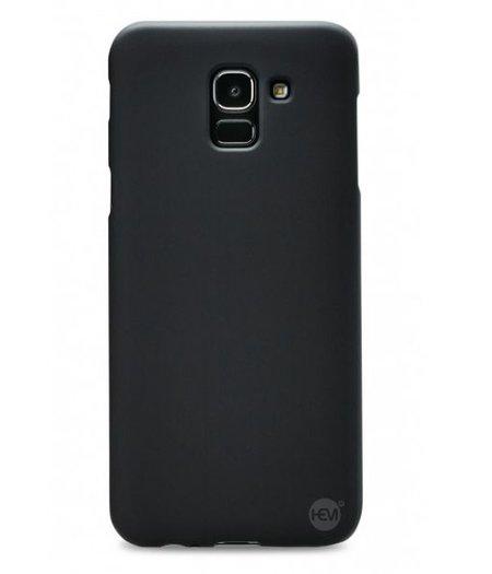 HEM Samsung Galaxy J6 2018 SM J600 Zwart Siliconen Gel TPU / Back Cover / Hoesje