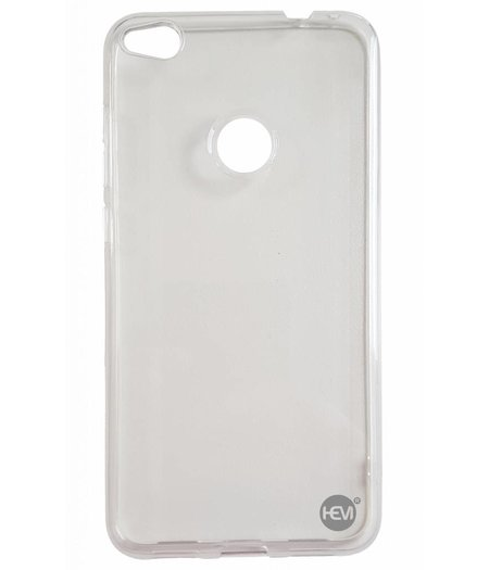 HEM Huawei P8 Lite 2017 siliconenhoesje Transparant Siliconen Gel TPU / Back Cover / Hoesje