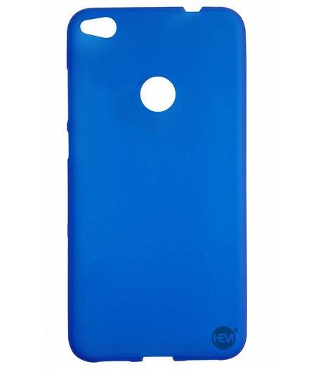 HEM Huawei P8 Lite 2017 siliconenhoesje Blauw Siliconen Gel TPU / Back Cover / Hoesje