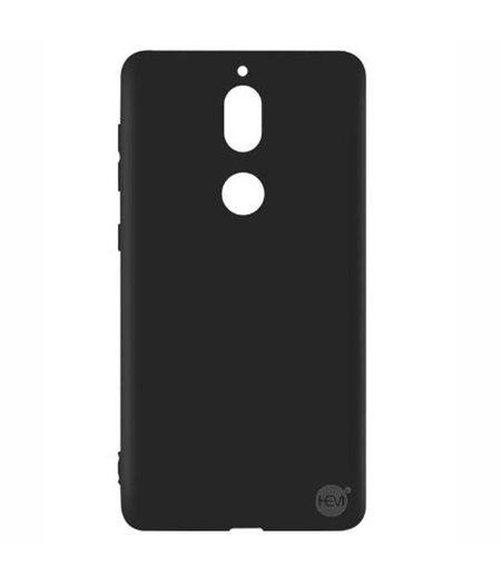 HEM Nokia 7 Plus Zwart Siliconen Gel TPU / Back Cover / Hoesje