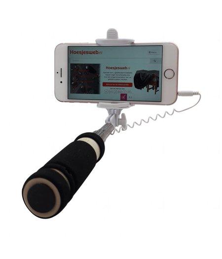 HEM Selfie Stick - Klein- Compact- voor iPhone-HTC-Samsung