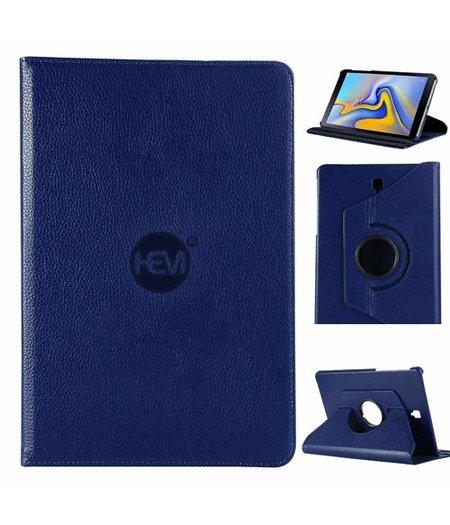 HEM Samsung Galaxy Tab A 2018 T595/T590 HEM Cover Donker Blauwe met uitschuifbare Hoesjesweb stylus