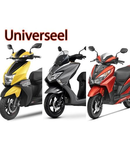 Universele scooter/motorhoes