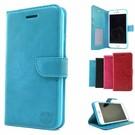HEM Huawei P Smart 2019 Aquablauw Wallet / Book Case / Boekhoesje/ Telefoonhoesje /met vakje voor pasjes, geld en fotovakje