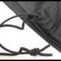 HOC ZweefParasolhoes met Stok en Rits 265 cm.Beschermhoes Parasol / Afdekhoes Parasol met rits en stok Zwart 265x50/58