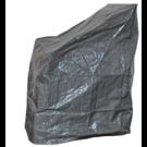 HOC Basic Stapelstoel Beschermhoes - Grijs- 68x20x120