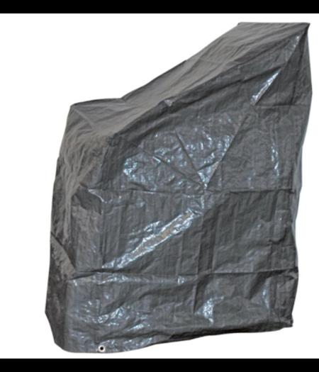 CUHOC Basic Stapelstoel Beschermhoes - Grijs- 68x68x120