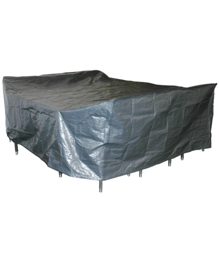 COVER UP HOC Basic Beschermhoes Tuinmeubel 300x250x80 Grijs Tuinset