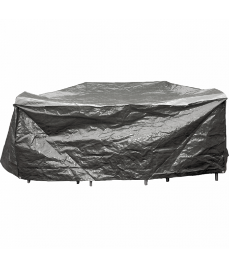 COVER UP HOC Basic Beschermhoes Tuinmeubel 215x170x80 Grijs Tuinset