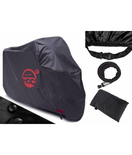 CUHOC Motorhoes 295*110*140 cm  (3XL ) stofvrij / ademend / waterafstotend RED Label
