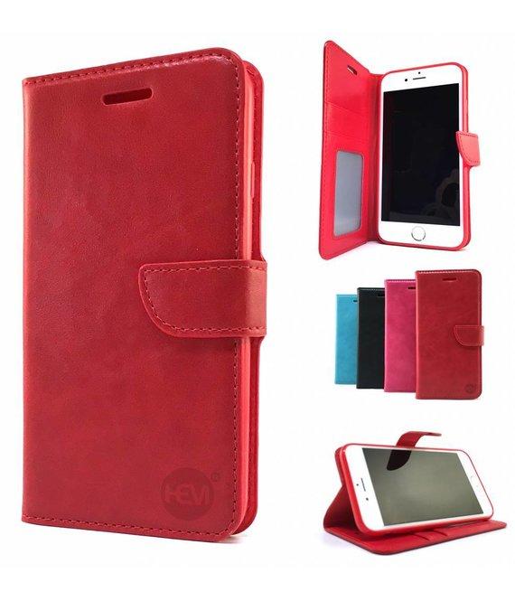HEM Samsung Galaxy A40 Rode Wallet / Book Case / Boekhoesje/ Telefoonhoesje /met vakje voor pasjes, geld en fotovakje