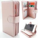 HEM  Samsung S8 Plus - Rose Gold - Pasjeshouder - Telefoonhoesje met extra flap voor 9 pasjes
