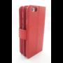 HEM  Samsung A6 2018  - Burned Red - Pasjeshouder - Telefoonhoesje met extra flap voor 9 pasjes