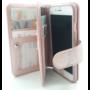 HEM  Samsung A7 2018  - Rose Gold - Pasjeshouder - Telefoonhoesje met extra flap voor 9 pasjes
