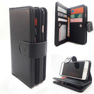 HEM Samsung Note 8 - Antique Black - Pasjeshouder - Telefoonhoesje met extra flap voor 9 pasjes