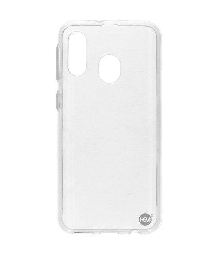 HEM Samsung Galaxy A40 siliconenhoesje Transparant Siliconen Gel TPU / Back Cover / Hoesje