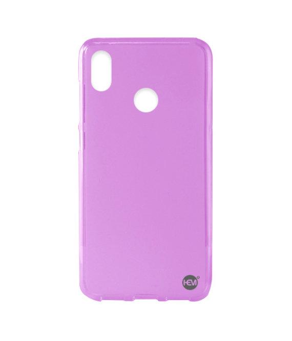HEM Huawei P20 Lite siliconenhoesje Mat Roze Siliconen Gel TPU / Back Cover / Hoesje