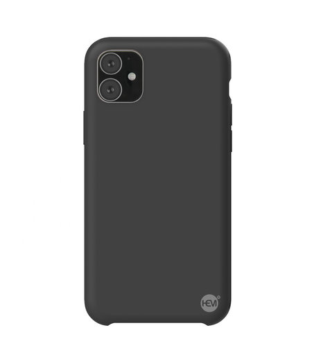 HEM iPhone 11 Mat Zwart Siliconen Gel TPU / Back Cover / Hoesje iPhone