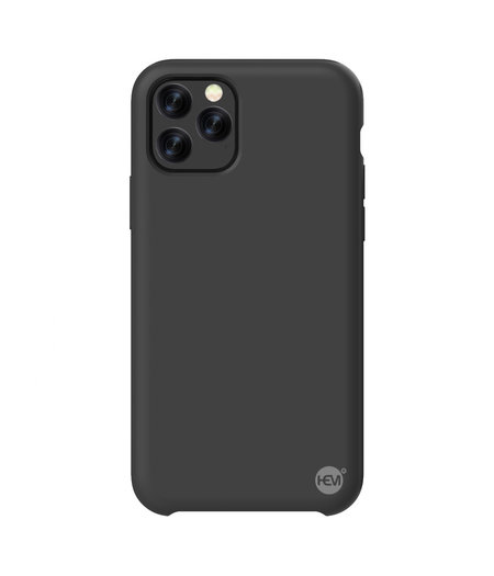 HEM iPhone 11 Pro Max Mat Zwart Siliconen Gel TPU / Back Cover / Hoesje iPhone