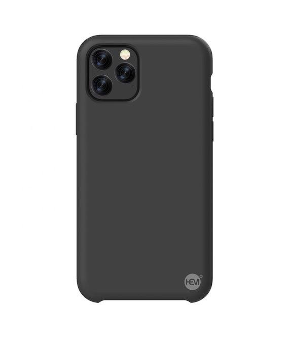 HEM iPhone 11 Pro Max Mat Zwart Siliconen Gel TPU / Back Cover / Hoesje iPhone