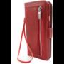 HEM Apple iPhone X/XS Rode Wallet / Book Case / Boekhoesje/ Telefoonhoesje / Hoesje met pasjesflip en rits voor kleingeld