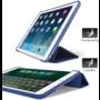 HEM HEM Apple iPad Air 2 Bookcover Donkerblauw met Siliconenachterkant en hoesjeswebstylus