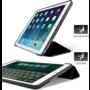 HEM HEM Apple iPad Air 2 Bookcover Zwart met Siliconenachterkant en hoesjeswebstylus