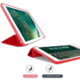 HEM HEM Apple iPad Air 2 Bookcover Rood met Siliconenachterkant en hoesjeswebstylus