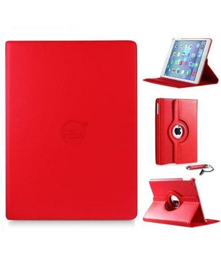 HEM iPad Pro 9.7 360 graden draaibare tablethoes Rood met Hoesjesweb stylus