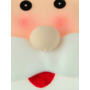 COVER UP HOC COVER UP HOC - Set Kerstmanstoelhoezen - Stoelhoezen 73 cm hoog 45 cm breed