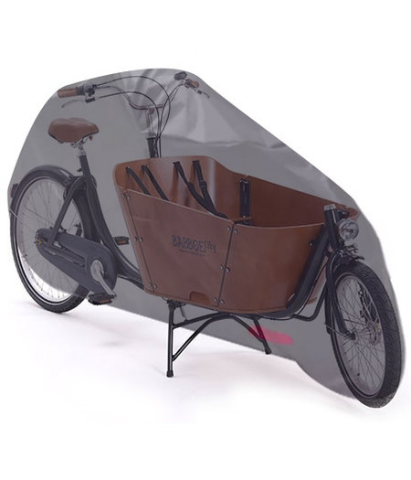 COVER UP HOC COVER UP HOC Topkwaliteit Diamond Babboe City Bakfiets - Waterdichte ademende Bakfietshoes met UV protectie