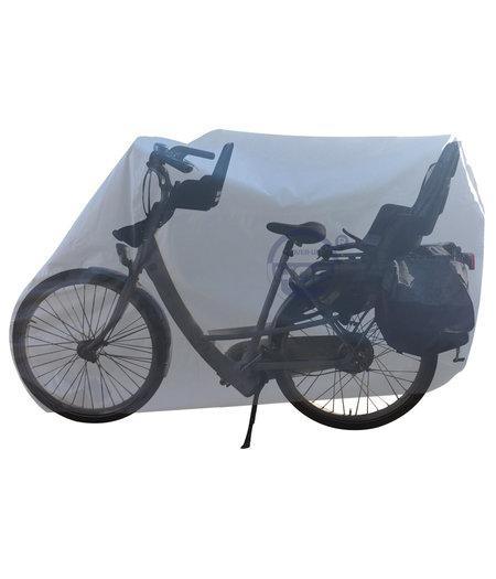 CUHOC COVER UP HOC Topkwaliteit Diamond Mamafiets hoes voor 2 zitjes - Waterdichte ademende fietshoes met UV protectie