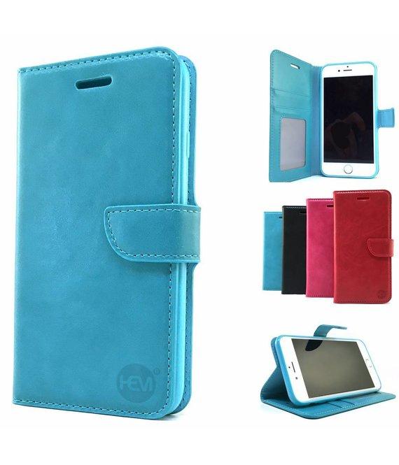 HEM Huawei P10 Blauwe HEM Wallet / Book Case / Boekhoesje/ Telefoonhoesje / Hoesje met vakje voor pasjes, geld en fotovakje