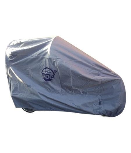 CUHOC COVER UP HOC Topkwaliteit Diamond - Bakfiets.nl Cruiser Short (Electrisch) Hoes - Waterdichte ademende Bakfietshoes met UV protectie en slotgaten